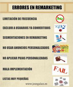 7 errores que debes evitar en las campañas de Remarketing de Adwords....