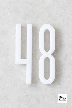 #housenumbers #modernhousenumbers #verticalhousenumbers #horizontalhousenumbers #addresssign #ideasforhouse #frontdoordesign #modernarchitecture #farmhousedecor #numbersign #doornumber Door Numbers, House Numbers, Cloud Kitchen, Double Sided Sticky Tape, House Letters, Front Door Design, Font Setting, Modern Fonts, Acrylic Material