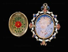 Nicholas Hilliard, The Armada Jewel w a miniature of Queen Elizabeth I enclosed in a jewelled case of enamelled gold, diamonds, rubies, rock crystal and a miniature. Tudor History, British History, John Smith, Antique Jewelry, Vintage Jewelry, Elisabeth I, Tudor Dynasty, Tudor Era, Renaissance Jewelry