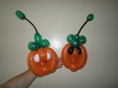 pumpkin balloon twisting how to make a balloon pumpkin bracelet halloween balloons youtube - Halloween Balloon Animals