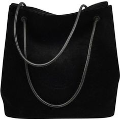 Pre-owned Suede handbag (815 CAD) ❤ liked on Polyvore featuring bags, 5c635781b6