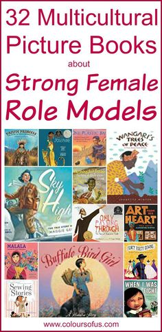 Multicultural Picture Books about Strong Female Role Models