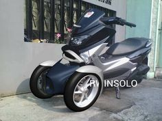 Yamaha Nmax Trike, aerokit by Arifin Santosa, Kediri Indonesia