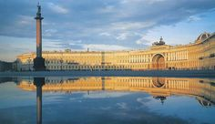 The Winter Palace in St. Petersburg, Russia - just gorgeous and been there