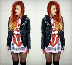 i want my red hair back :(