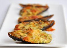 Stuffed Mussels  -  fancy Tapas appetizer