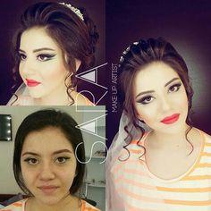 Bugunki gelinlerimden biri Xowbext olun Makeup by me Hair by @stilist_solmaz  @orxideyabeauty_vip