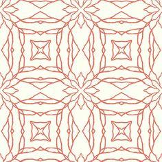 "Pattern Play 33' x 20.5"" Reflections Wallpaper"