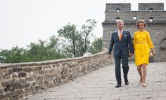 Queen Mathilde and King Philippe visits China - Day-3