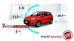 Con Palio Sporting descubriras que su potencia lo hacen ser unicos.