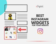 THE BEST FREE INSTAGRAM WIDGETS FOR YOUR WEBSITE Instagram Widget, Free Instagram, Content Marketing Strategy, Social Media Marketing, Digital Marketing Plan, Marketing Consultant, Getting To Know You, Website, Learning