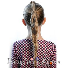 How To: Split Twist Braid | Pretty Hair is Fun