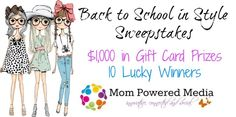 Back to School in Style Giveaway Event – Parenting | Life Style | Reviews