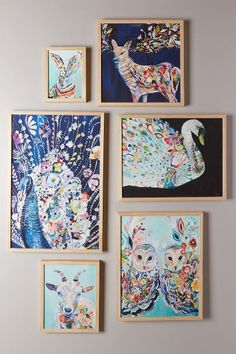 Mooreland Wall Art, Peacock - anthropologie.com #anthrofave
