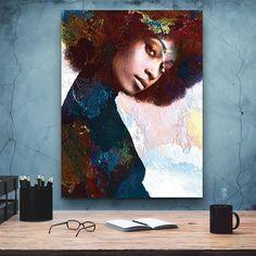 African-American Woman Vector Art, Melanin Art, 6 Beauty Woman, African Art,  Black Lives Matter, Housewarming Gift, Black Woman Art Poster Decorations, Comic Poster, Black Women Art, Black Art, Great Housewarming Gifts, African American Women, Psychedelic Art, Minimalist Art, African Art