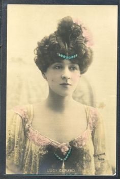 PW045-ARTIST-STAGE-STAR-LUCY-GERARD-HAIRSTYLE-Tinted-PHOTO-pc-REUTLINGER