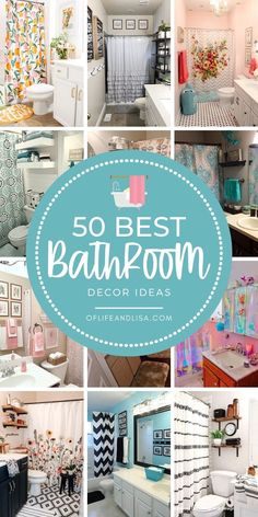 Be inspired to give your #bathroom🚽 a new look or a quick refresh with these beautiful budget-friendly bathroom decor ideas. ------------------------- #bathroomdecor #bathroominspo #bathroomdecoration #bathroomdecorating #homedecor #homedecorideas #decor #decorideas #farmhouse #rustic #farmhousedecor #rusticdecor #shabbychicdecor #boho #bohodecor #tribaldecor #pink #aqua