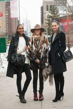 Fabulous NYFW Street Style  #nyfw #fashionweek