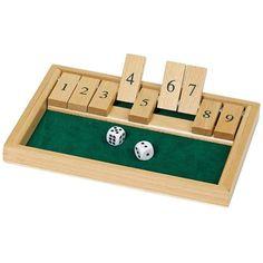 933bf64d26 Würfelspiel Shut the box [importato da UK] #sethmeyers #settings #setitup #
