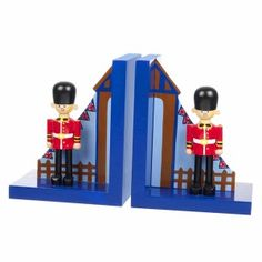 Children's Bookends, Boy's Bookend   Becky & Lolo