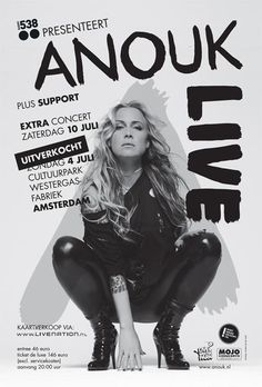"Anouk Teeuwe, professionally known as Anouk is regarded as the most popular female rock singer in the Netherlands. ""Three Days in a Row"" is the first official single of her sixth album 'For Bitter or Worse' that was released in 2009. One week after its release, the song was heard 22 million times on the Dutch radio: it reached the first position in the Dutch Airplay-chart."