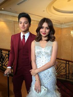 Teen Queen & King Kathryn Bernardo and Daniel Padilla at the Ball Dresses, Ball Gowns, Prom Dresses, Star Magic Ball, Daniel Padilla, Kathryn Bernardo, Asian Actors, Celebs, Celebrities