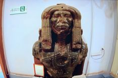 Mastaba-Chapel of Hetepherakhet - Google Search Mary And Jesus, Tutankhamun, Ancient Egypt, Romans, Civilization, Lion Sculpture, Hero, Egyptians, Culture