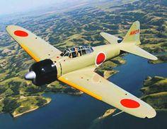 Vintage aircraft zero that