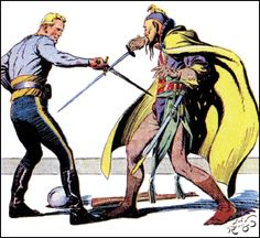 The Holloway Pages: Pulp Heroes: Flash Gordon / illust: Alex Raymond