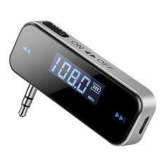 VicTsing Wireless In-car FM Transmitter Radio Adapter Wit... https://www.amazon.com/dp/B01C8QVX1I/ref=cm_sw_r_pi_dp_x_O2jnybVS9JVGT