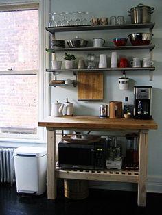 Organization Inspiration: 10 Neat & Beautiful Kitchens   Apartment Therapy