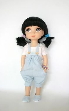 Disney Baby Doll Clothes Black Panties Animator/'s collection Princess 16inch