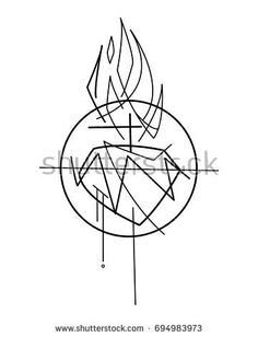 Hand drawn vector illustration or drawing of Jesus Christ Sacred Heart Sagrado Corazon Tattoo, En Stock, Sacred Art, Christian Art, Legos, Painting & Drawing, Jesus Christ, Illustration, How To Draw Hands