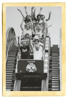 An Oral History of The Beast - Cincinnati Magazine Kings Island, Old King, Amusement Park Rides, Carnival Themes, 35th Anniversary, Oral History, Park Photos, Old Pictures, Historical Photos