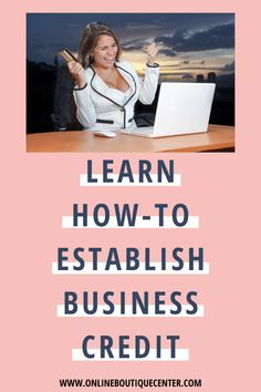 There are a few necessary steps you will need to take to establish business credit fast and get funding for your business. Find out what and where you can get the necessary tools to grow your online boutique business. Included in our Boutique Boss Bundle Seo Guide, Custom Packaging, Growing Your Business, A Boutique, Online Boutiques, Ecommerce, Boss, How To Plan, Learning
