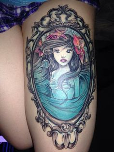 Hans Christian Andersen should have gotten this Little Mermaid tattoo.