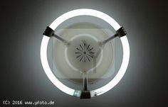 runde Neonlampe (Technik Beleuchtung Neonröhren)