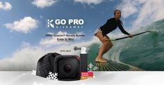 Win a GoPro® HERO Session™ Holiday Bundle!