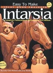 12-1260 - Easy To Make Inlay Wood Projects Intarsia Book - Woodworkersworkshop®…