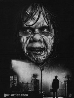 Scary Wallpaper, Halloween Wallpaper, Chucky, Scary Movies, Horror Movies, Horror Movie Tattoos, Horror Drawing, Linda Blair, Horror Artwork