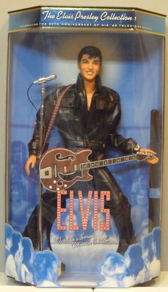 Vintage Mattel Collectors Edition Elvis Presley Celebrity Barbie in Box