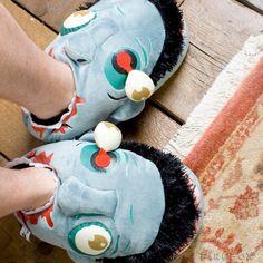Zapatillas zombie, el regalo de estas navidades.