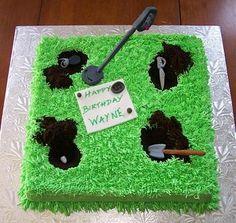 Metal detecting cake