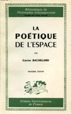The Poetics of Space. This is the original version of the book I originally read in Arabic. Gaston Bachelard, Social Media Branding, My Books, Writing, Reading, Original Version, Lus, Shelters, Book Covers