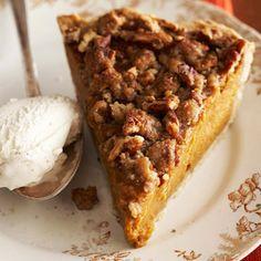 Apple-Butter Pumpkin Pie