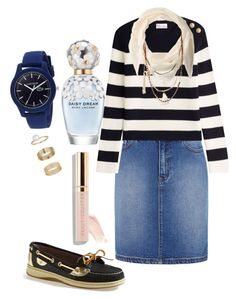 """""""Untitled #25"""" by pentecostal-apostolicfashion2016 on Polyvore featuring Sperry, RED Valentino, BCBGeneration, Miss Selfridge, Lacoste, Beautycounter and Marc Jacobs"""