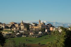 Ostra, my girlfriend's nice little town in the Marche countryside.