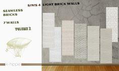 7 brick walls light vol2 at K-hippie via Sims 4 Updates
