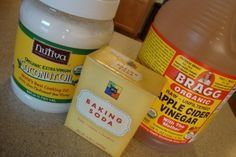 No Shampoo!! Why I Use Coconut Oil, Baking Soda, and Apple Cider Vinegar For Body Care… Coconut oil, Baking soda & ACV to replace, Shampoo, Conditioner, deodorant, toothpaste, Moisturizers, Lotions, and Lip Balm