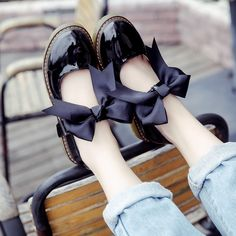 New arrival bowtie oxford shoes for women fashion buckle lolita shoes women casual mary janes women flats shoes zapatos mujer